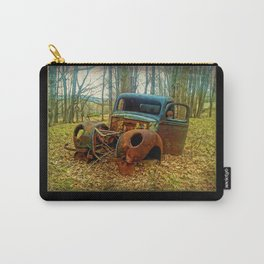 Reserved Parking ~ Vintage Truck ~ Ginkelmier Inspired Carry-All Pouch