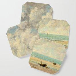Gustave Courbet - The Calm Sea Coaster