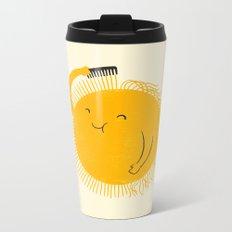 Here comes the sun Metal Travel Mug