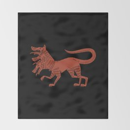 Cerberus Throw Blanket