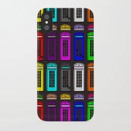 Britz Teleboxes iPhone Case