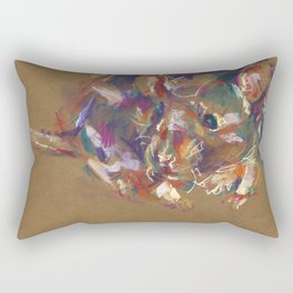 Rat portrait II Rectangular Pillow