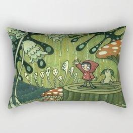 Waiting For The Rain by Kaori Hamura Rectangular Pillow