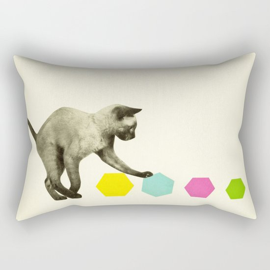 Kitty Cat Rectangular Pillow