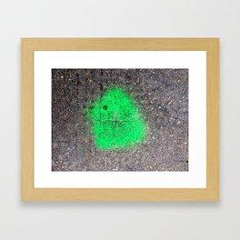 Benchmark Framed Art Print