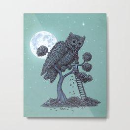 The Night Gardener  Metal Print