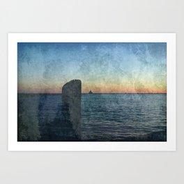Oswego sunrise Art Print