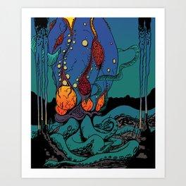 Eldritch Princesses: Ariel Art Print