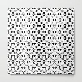 Arabic Typography pattern  Metal Print