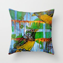 Do Not Worry Throw Pillow