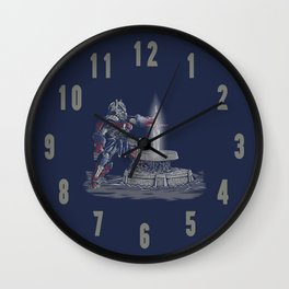 SWORD OF JUDGEMENT Wall Clock