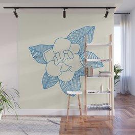 Magnolia Flower Wall Mural