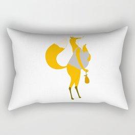 Fox motherand and her baby Rectangular Pillow