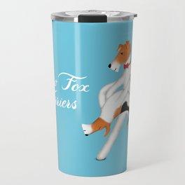 Slow Fox Terriers Travel Mug
