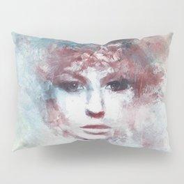 Girl face painting ART Pillow Sham