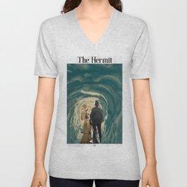 The Hermit Unisex V-Neck