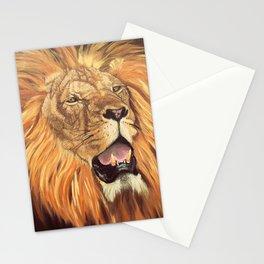 Brave Lion Stationery Cards