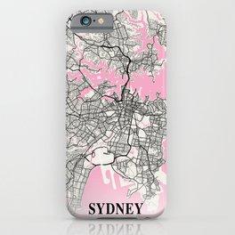 Sydney - Australia Neapolitan City Map iPhone Case
