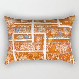 Orange Room Rectangular Pillow