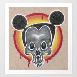 Dia de el Mouse Art Print