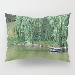 Lakeside Boat Pillow Sham
