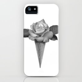 Rose Cream iPhone Case