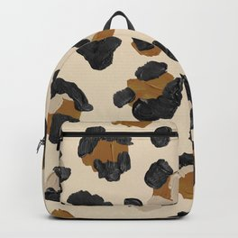 Leopard Print – Neutral Gold Light Palette Backpack