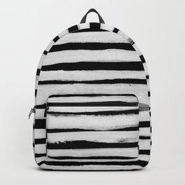 Black and White Stripes II Backpack