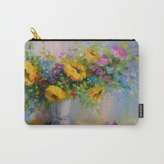Bouquet de fleurs jaunes Carry-All Pouch