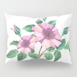 Floral background Pillow Sham