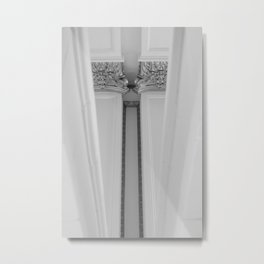 Detailed Support: Inverted Metal Print
