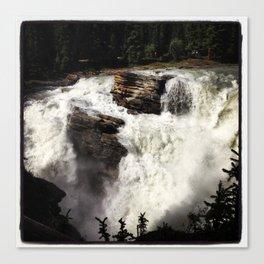 Rushing Falls Canvas Print
