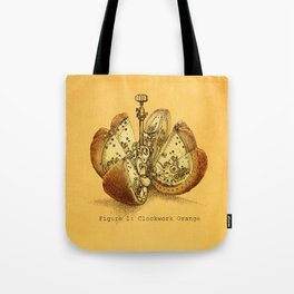 Steampunk Orange  (color option) Tote Bag