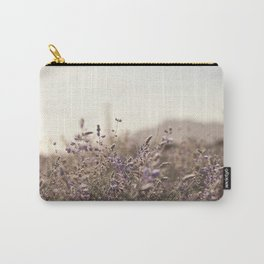 Purple Field Carry-All Pouch