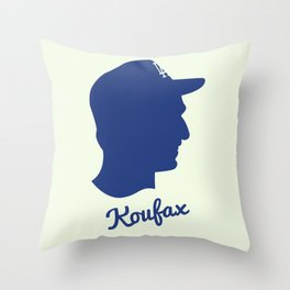 Sandy Koufax  Throw Pillow