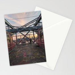 Graffitis at the Williamsburg Bridge Stationery Cards