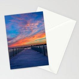 Wahoos Stadium Sunset I Stationery Cards