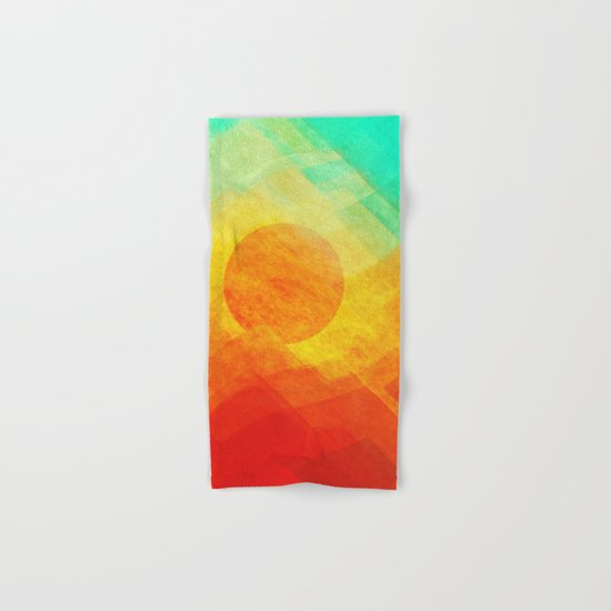 Dreamy Sunset Hand & Bath Towel