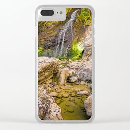 Coastal Falls Clear iPhone Case