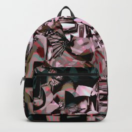 Cubist Abstract Backpack