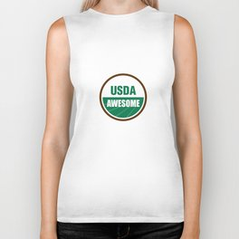 USDA AWESOME Biker Tank