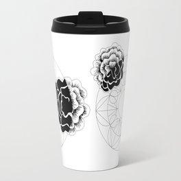 Roses mandala Travel Mug