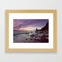 another world. Framed Art Print
