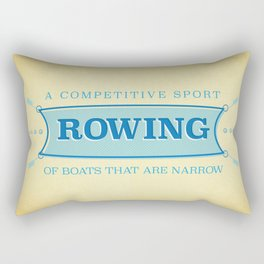 A Competitive Sport. Rectangular Pillow