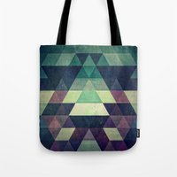 spires Tote Bags featuring dysty_symmytry by Spires