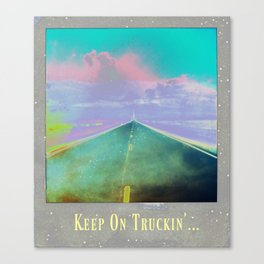 ROADTRIPN' HARD Canvas Print