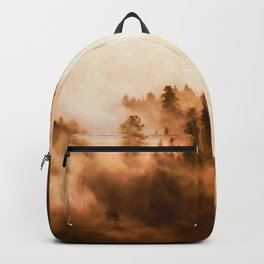 Clear away the fog to see the light. Sepia Backpack