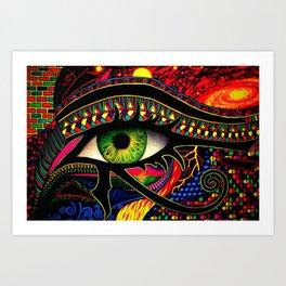 Eye Of Wonder Art Print