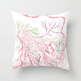Silt Magnificent Wonder Throw Pillow