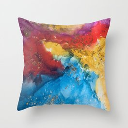 Boho bash Throw Pillow